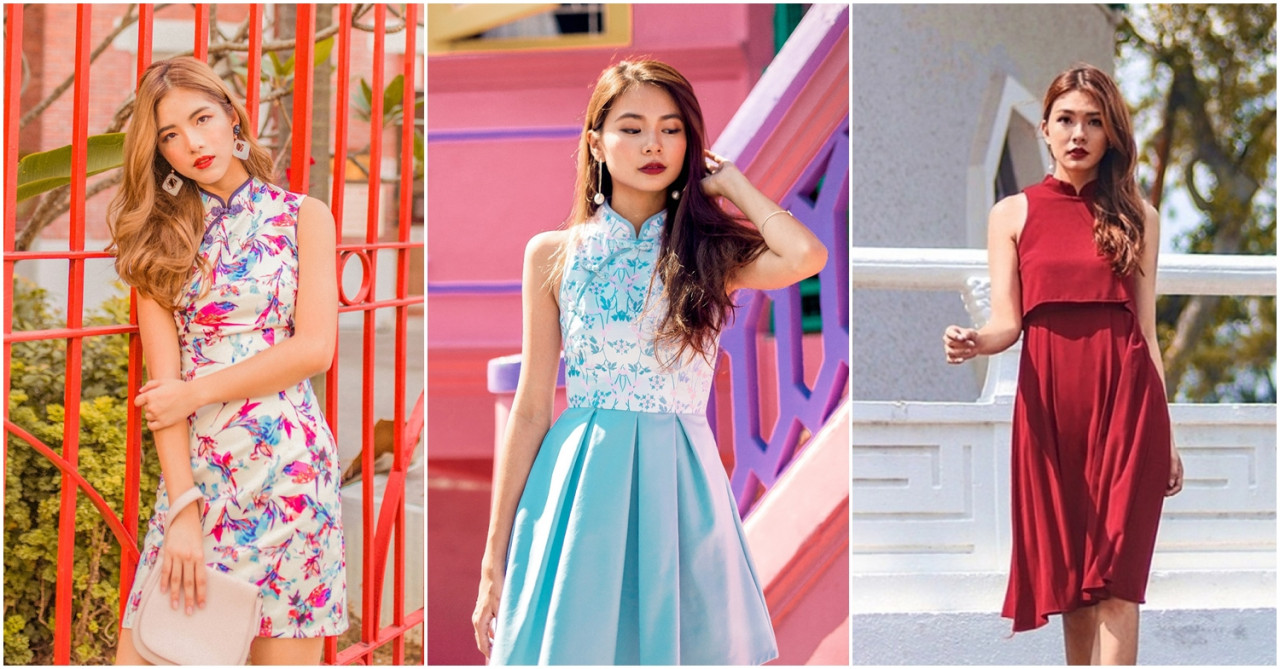 10 Affordable Modern Cheongsams From Singapore-Based Blogshops For Your CNY 2019 #OOTD