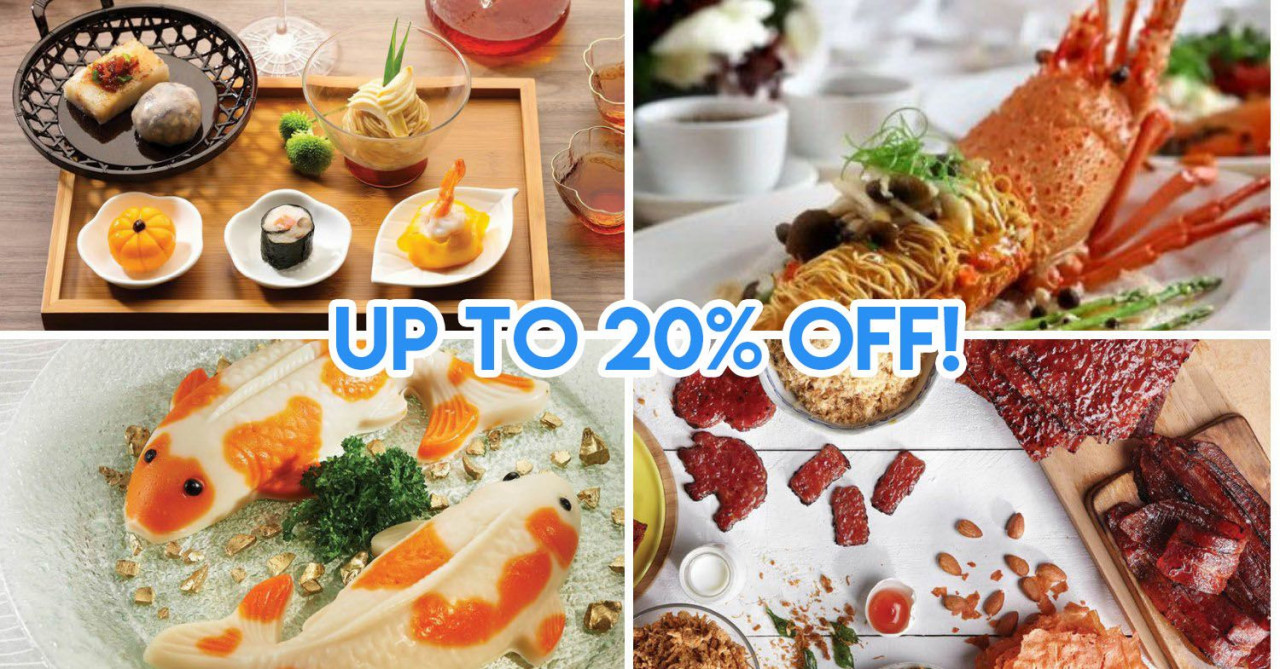 10 Reunion Dinner Discounts In 2019 That Include Dine-In & Takeaway Options