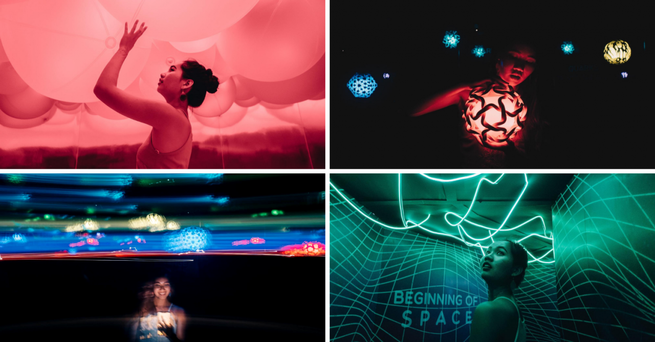 "The TRANSPORTA Showcase at Esplanade Uses ""Portals"" To Teleport You To An IG-Worthy Cosmic Realm"