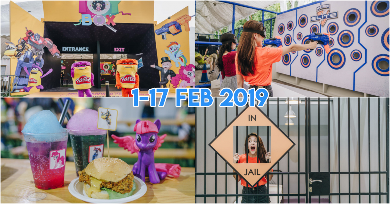TOYBOX by Hasbro At Sentosa – Carnival With My Little Pony Makeovers, Cluedo Escape Rooms & Human Claw Machines