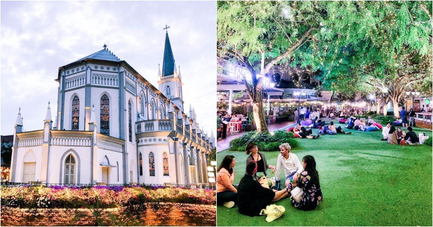 CHIJMES's V-Day Picnic Under The Stars Will Display Your Messages To Your BF/GF On Its Facade