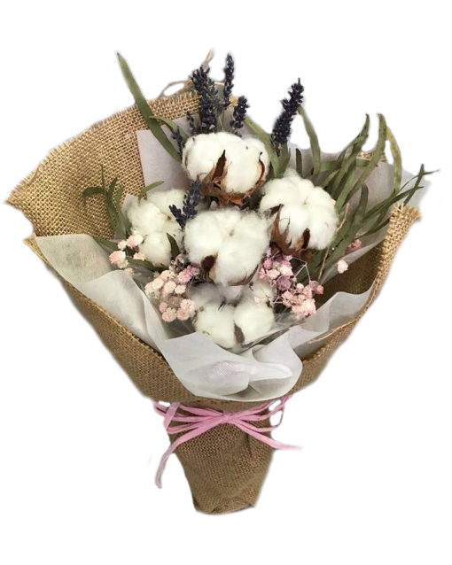 Valentine's Day bouquets under $50 - Cotton bouquets