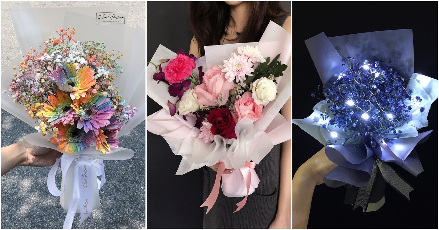 10 Affordable Valentine's Day Bouquets In Singapore At $50 And Under, With Delivery & Self-Collection