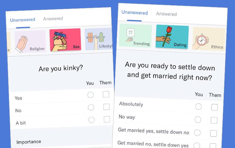 Dating-Format