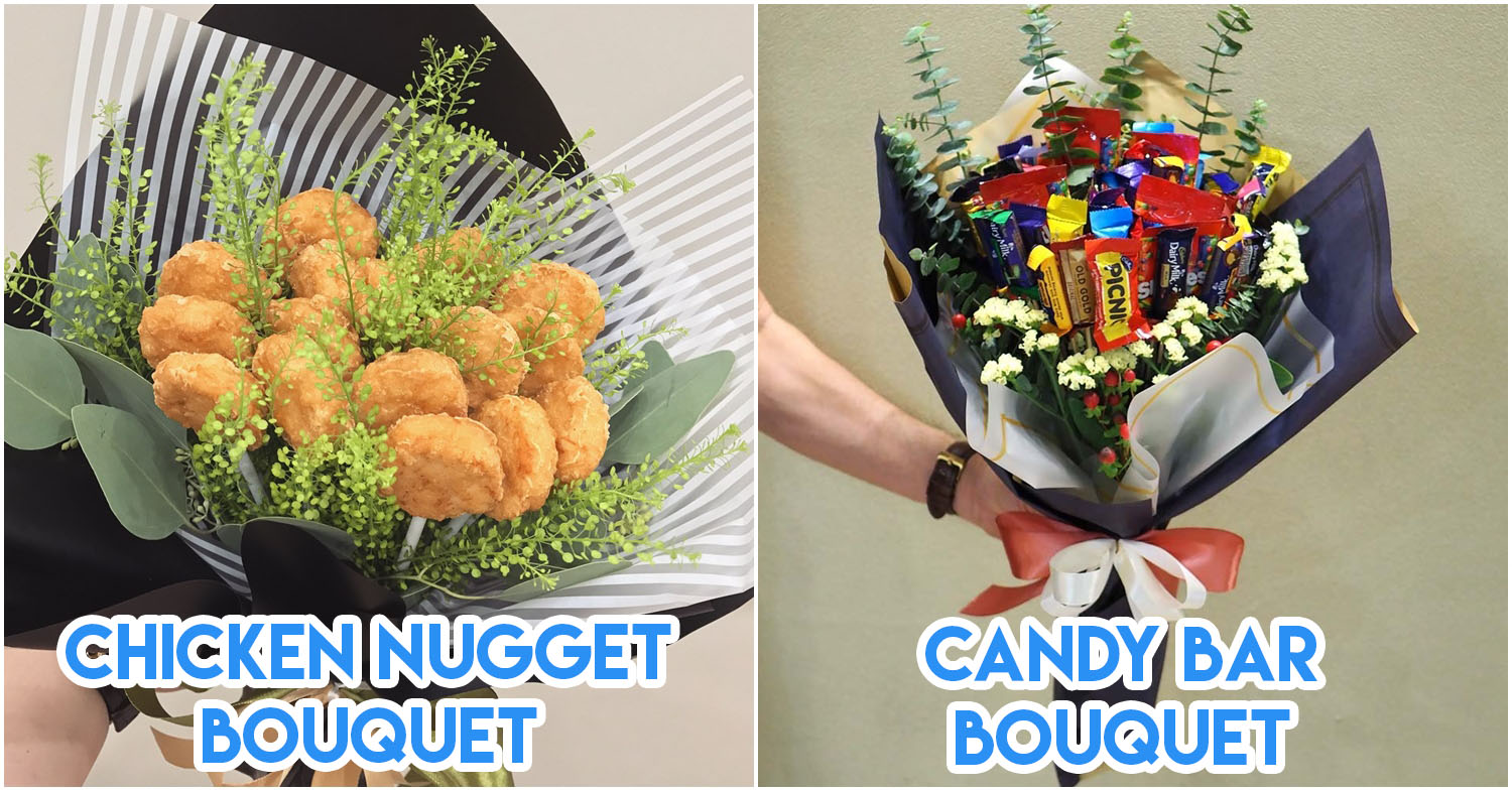 9 Edible Bouquets In Singapore To Surprise Your Foodie Girlfriend With For Valentine's Day 2019