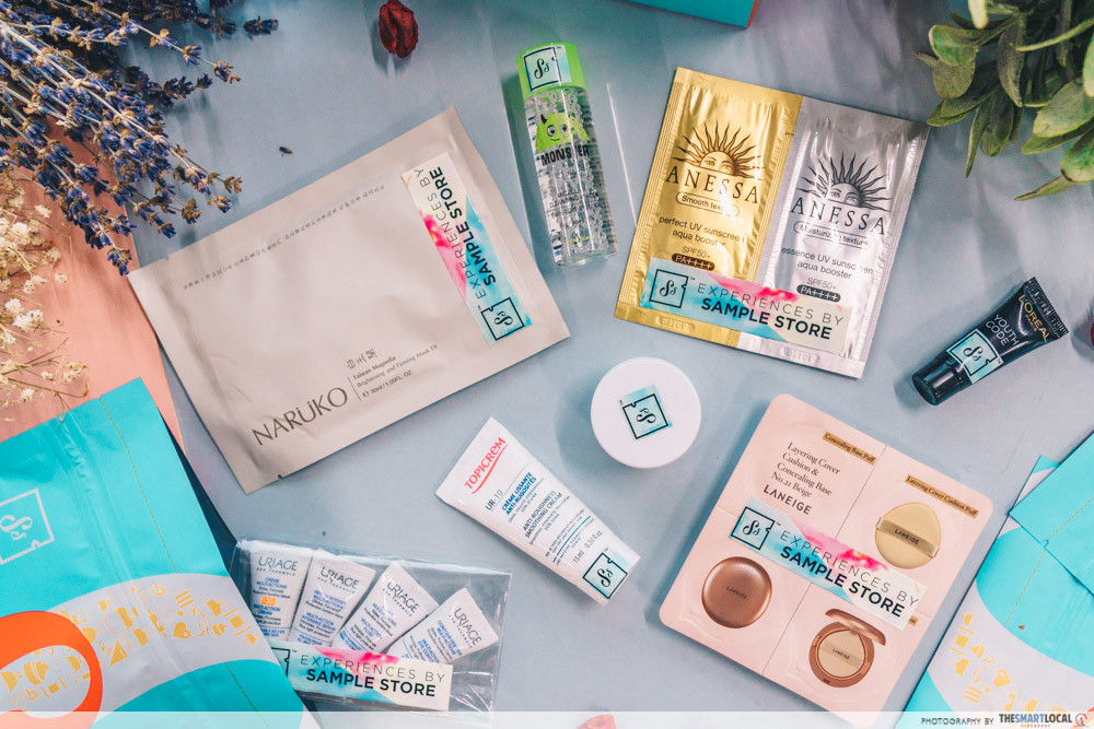 Free skincare & beauty samples