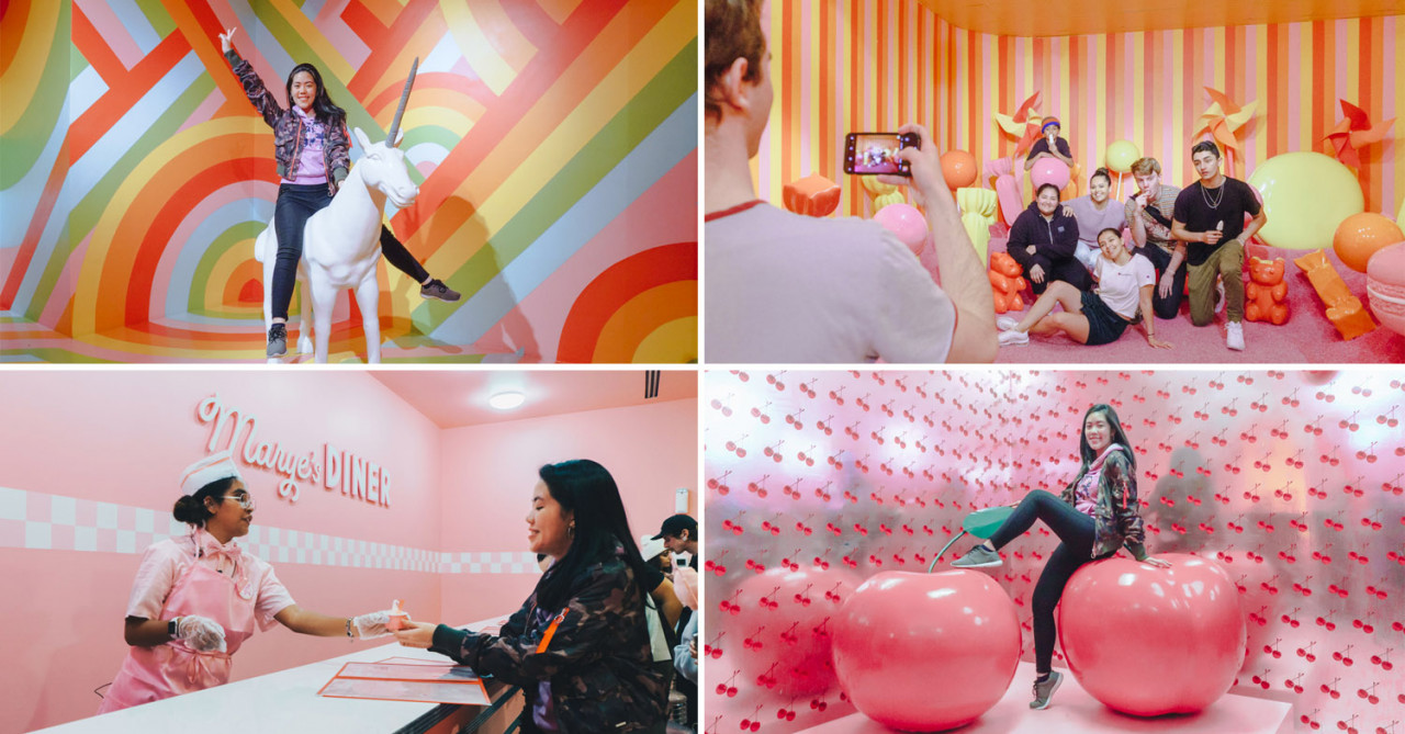 San Francisco's Viral Museum Of Ice Cream Has Sprinkle Pools, Carousels & Swing Zones For Level 99 Boomerangs