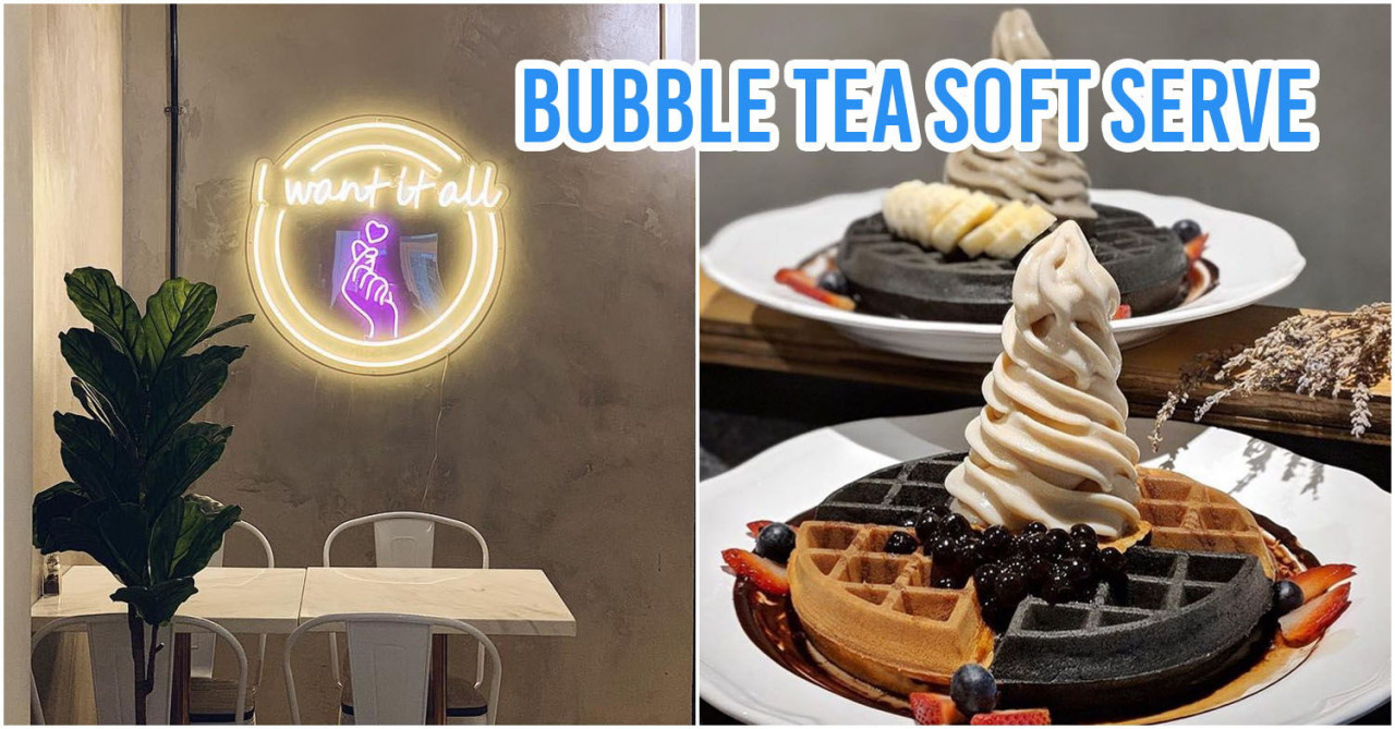 9 Late-Night Ice Cream & Waffle Cafes In Singapore To Quell