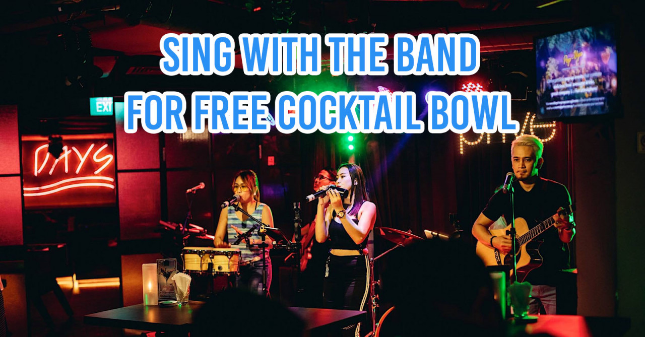 Bars In Singapore With Drinking Games & Challenges That Reward Winners With Free Alcohol