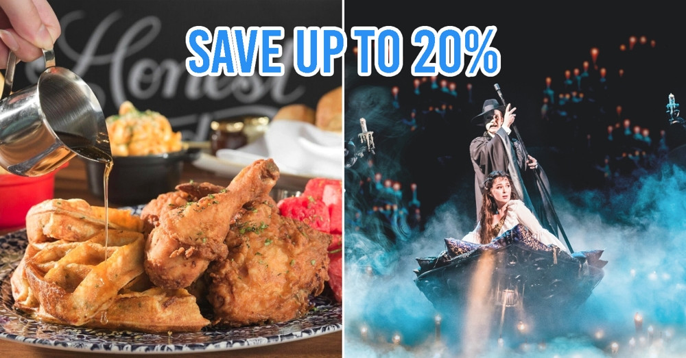 This Show & Dine Package By MBS Gives You Discounted Theatre Tix And Top Restaurant Food For Special Dates