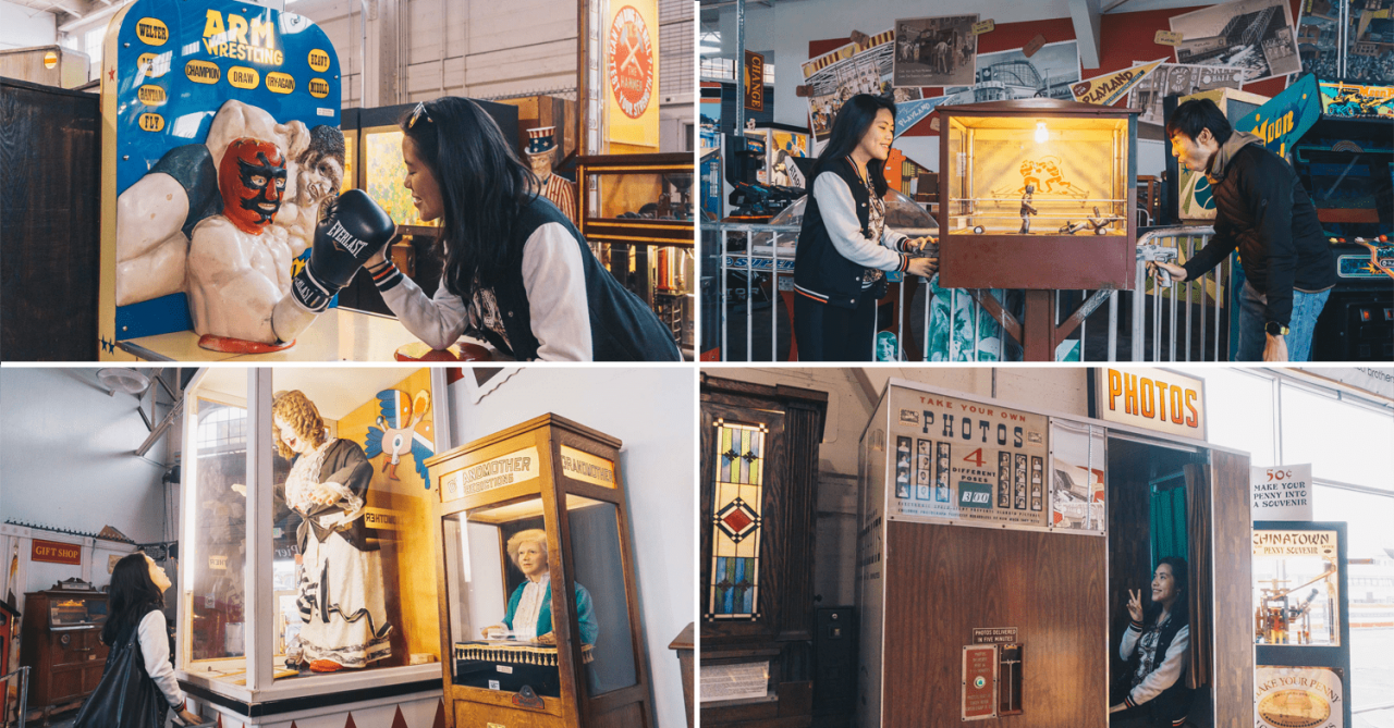 Musee Mecanique: Rare Vintage Arcade In San Francisco With Old-School Pinball & Fortune-Telling Machines