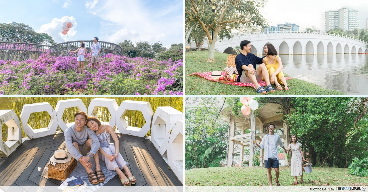 5 Secret Picnic Spots In Singapore For A Couple Photoshoot Worthy Of A K-Drama
