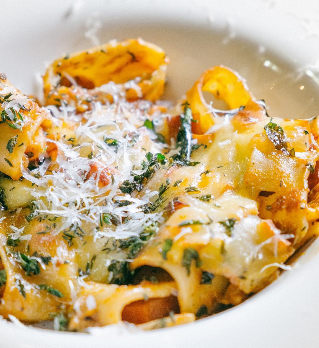 pasta bar baked pasta al Forno
