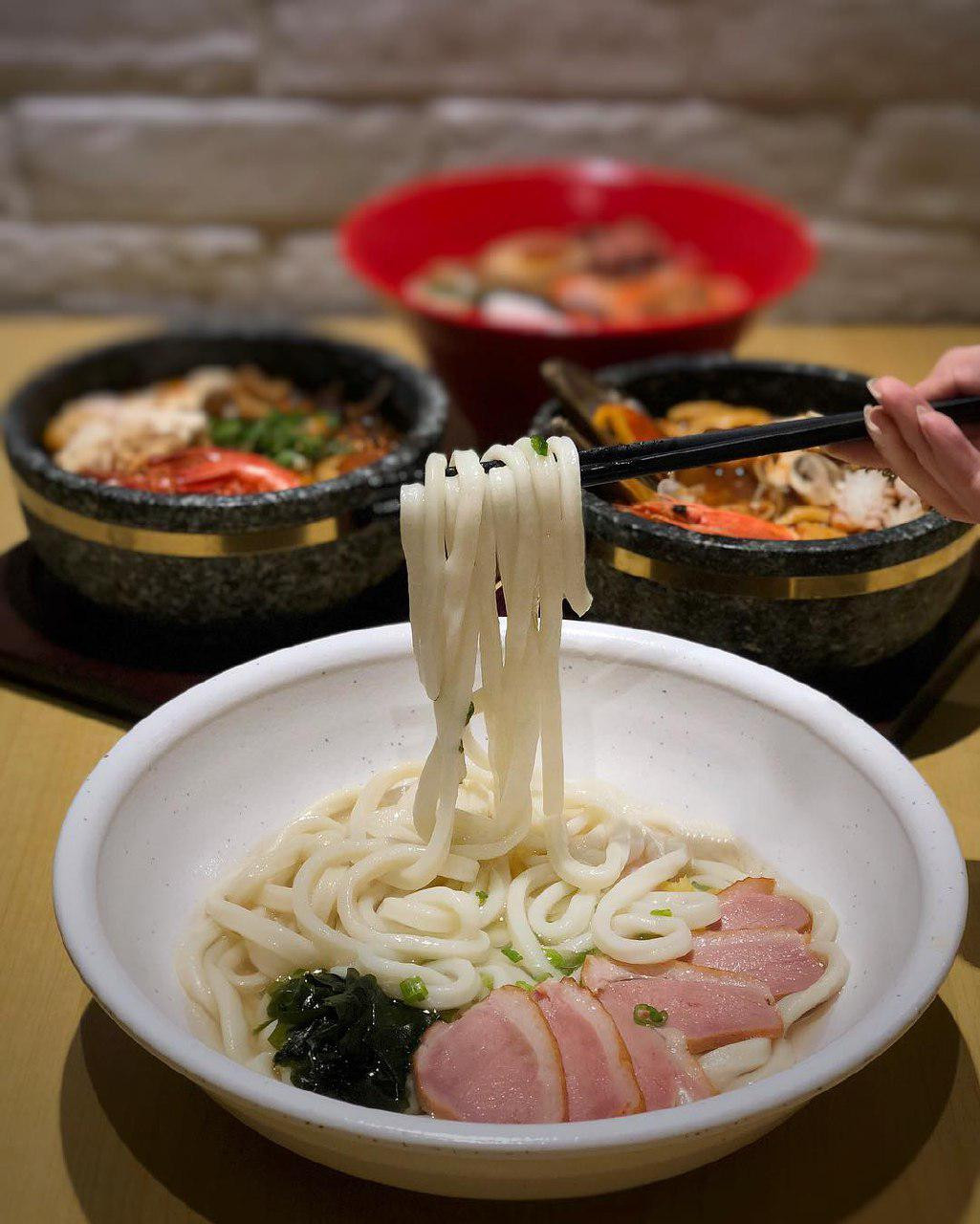 Smoked Duck Kyoto style Udon