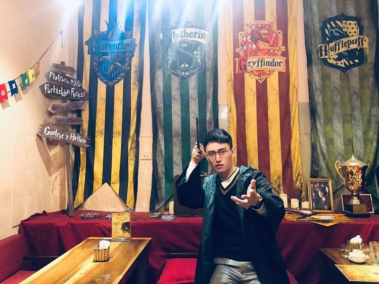 Harry Potter activities - Always Cafe in Vietnam