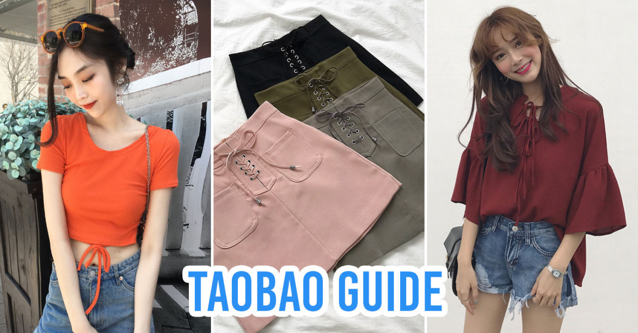 Taobao Shopping Guide For Singaporeans Who Can't Read Mandarin