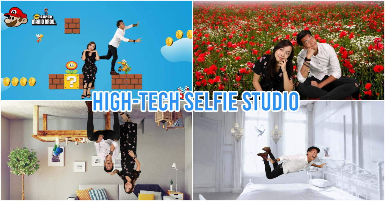 "Palfie Pix Is Singapore's First Virtual Selfie Studio That's Like The New Age ""Neoprint"" For Millennials"