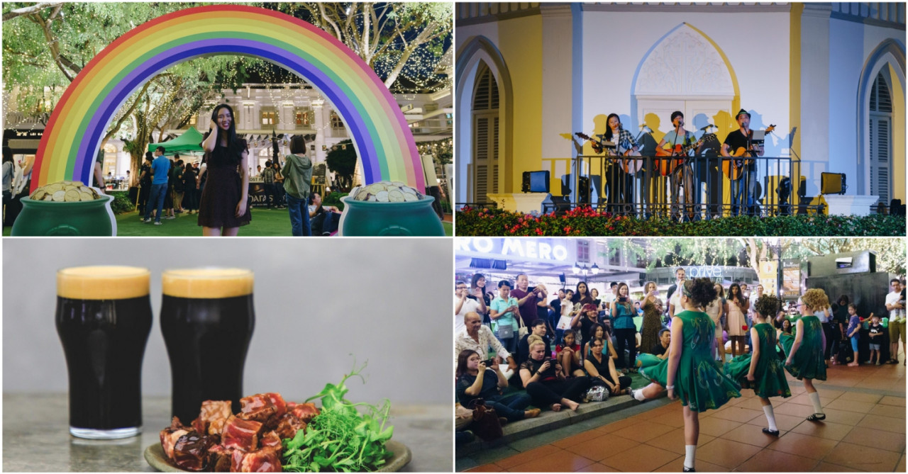 CHIJMES Is Throwing A St Patrick's Party With Booze Promos & Live Irish Performances Till Late