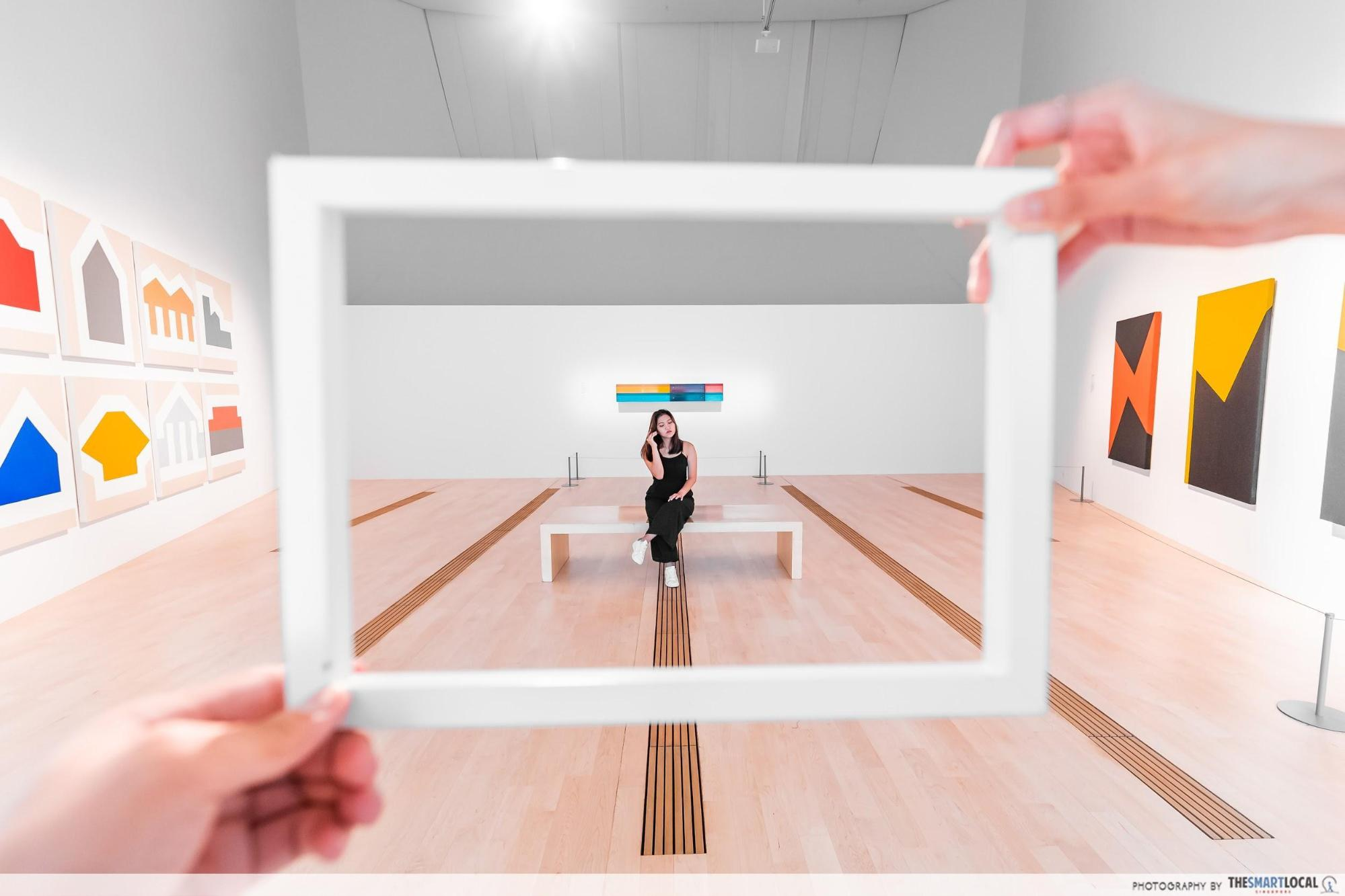 "6 ""Wow"" Photographs You Need To Take At ArtScience Museum's Minimalism Exhibit Before It Closes"