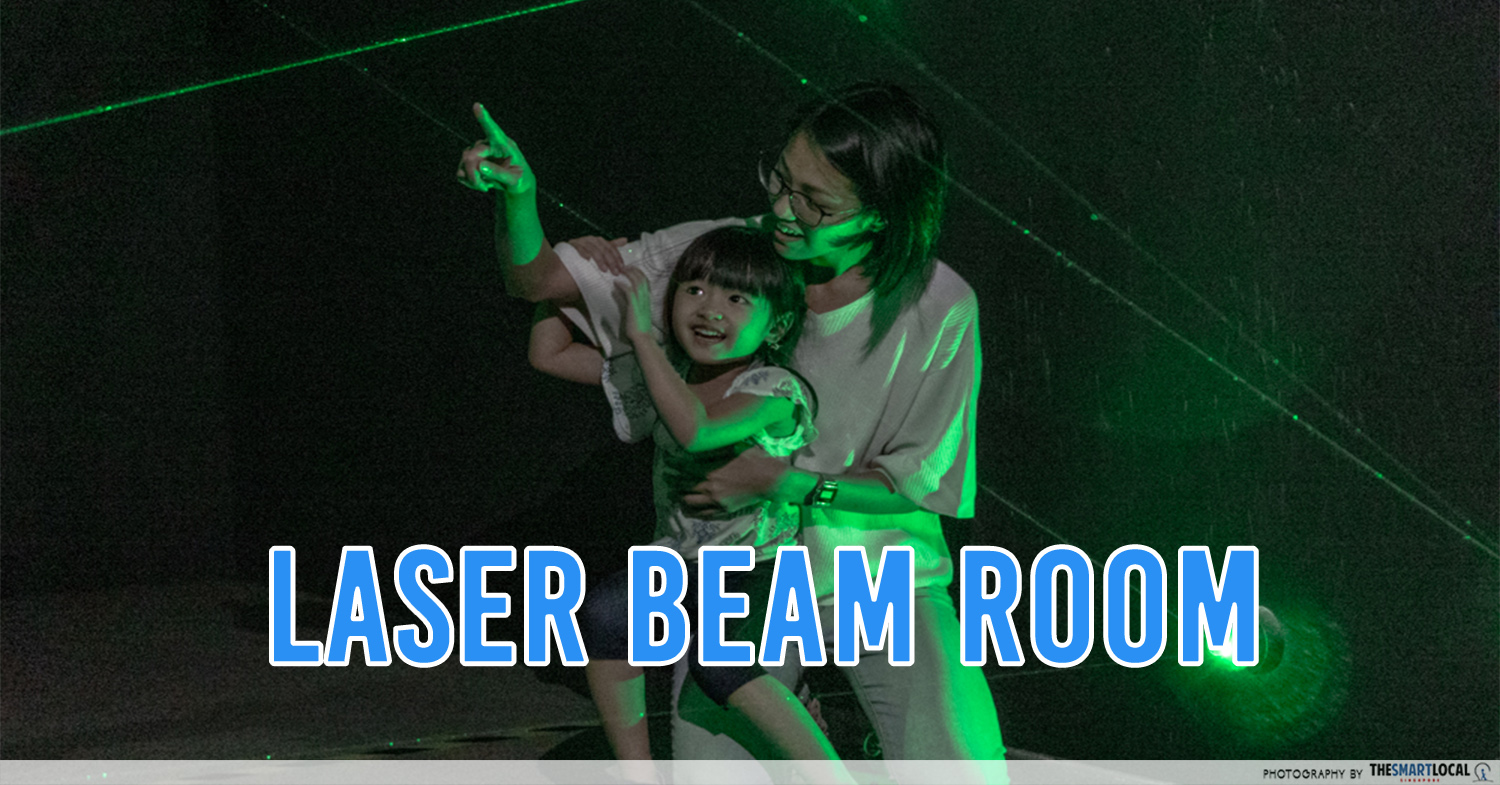 The Seletar Mall Has A New Pop-Up Maze With Laser Beams & Slides For All Eco-Warriors To Conquer