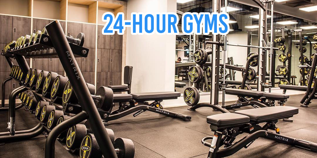 24-Hour Gyms In Singapore For Early Risers & Serial OT-ers To Hit Their Fitness Goals At