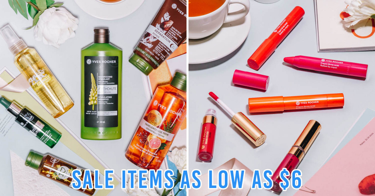 Yves Rocher x Lazada Has Up To 50% Off Storewide With Limited Edition Surprise Boxes Worth Over $120