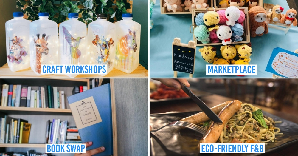 Causeway Point Now Has A Pop-Up Carnival, Free Craft Workshops & Book Swaps To Help You To Go Green