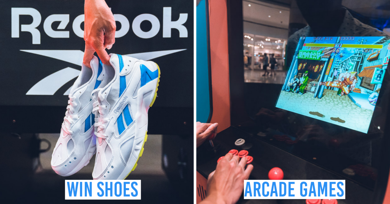 Reebok Classic Is Having A 90s Themed Pop-Up With Arcade Machines, Air Hockey & Aztrek Shoes To Be Won