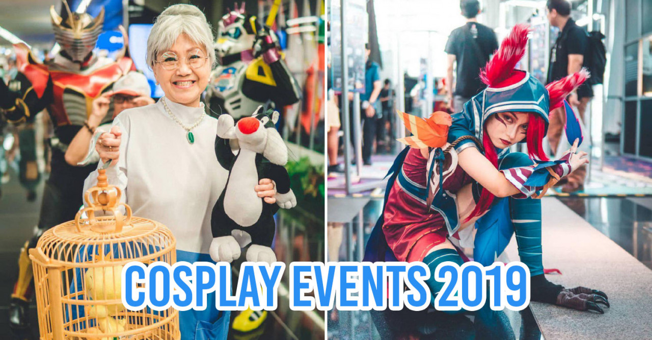 7 Cosplay Conventions & Anime Events In Singapore To Dress Up For In 2019