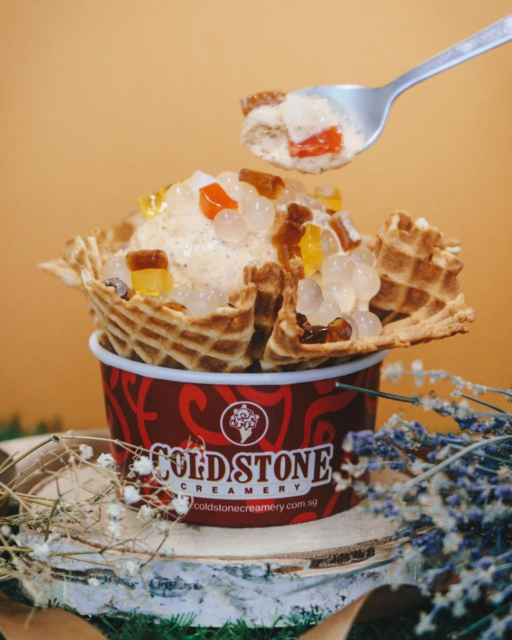 1-for-1 Thai Milk Tea ice cream Cold Stone