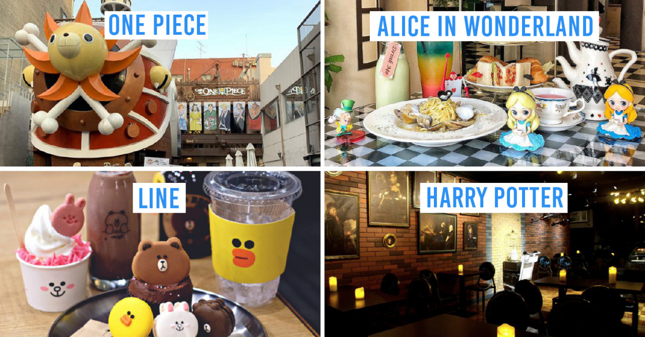 7 Insanely Themed Cafes & Restaurants In Asia With LINE Friends, Vampires, & Alice In Wonderland