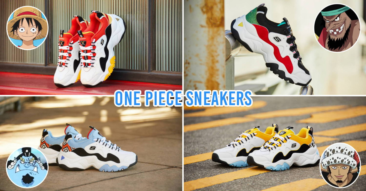 one piece sneakers