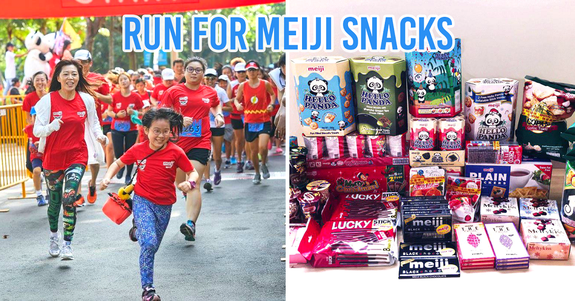 The 2019 Meiji Run At Sentosa Has Yoga, Carnival Games & Gives Vouchers For Faster Race Timings