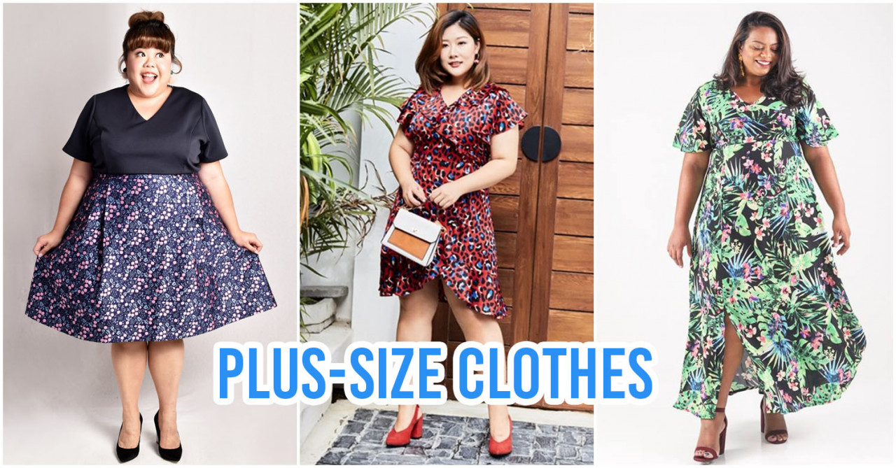 66dd9d04bd5 8 Plus-Size Clothing Stores In Singapore For Big Ladies To Get Fashionable  Outfits From