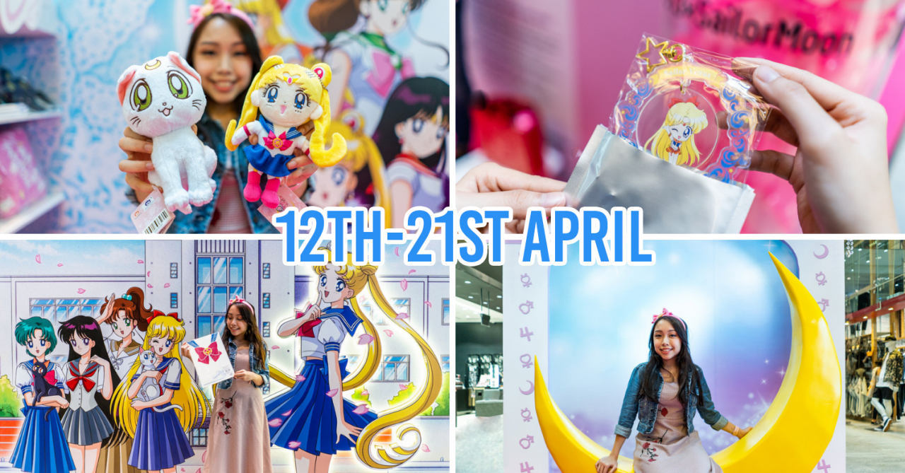 The First Ever Sailor Moon Pop-Up In Singapore Is At 313@somerset With Photo Ops & Exclusive Merch