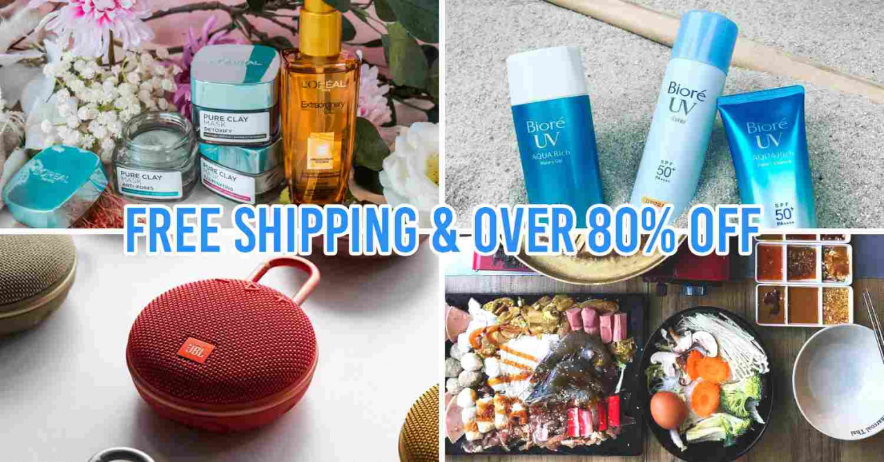 Shopee Brands Festival Has 24-Hour Deals & Giveaways Daily From Brands Like L'Oreal & JBL