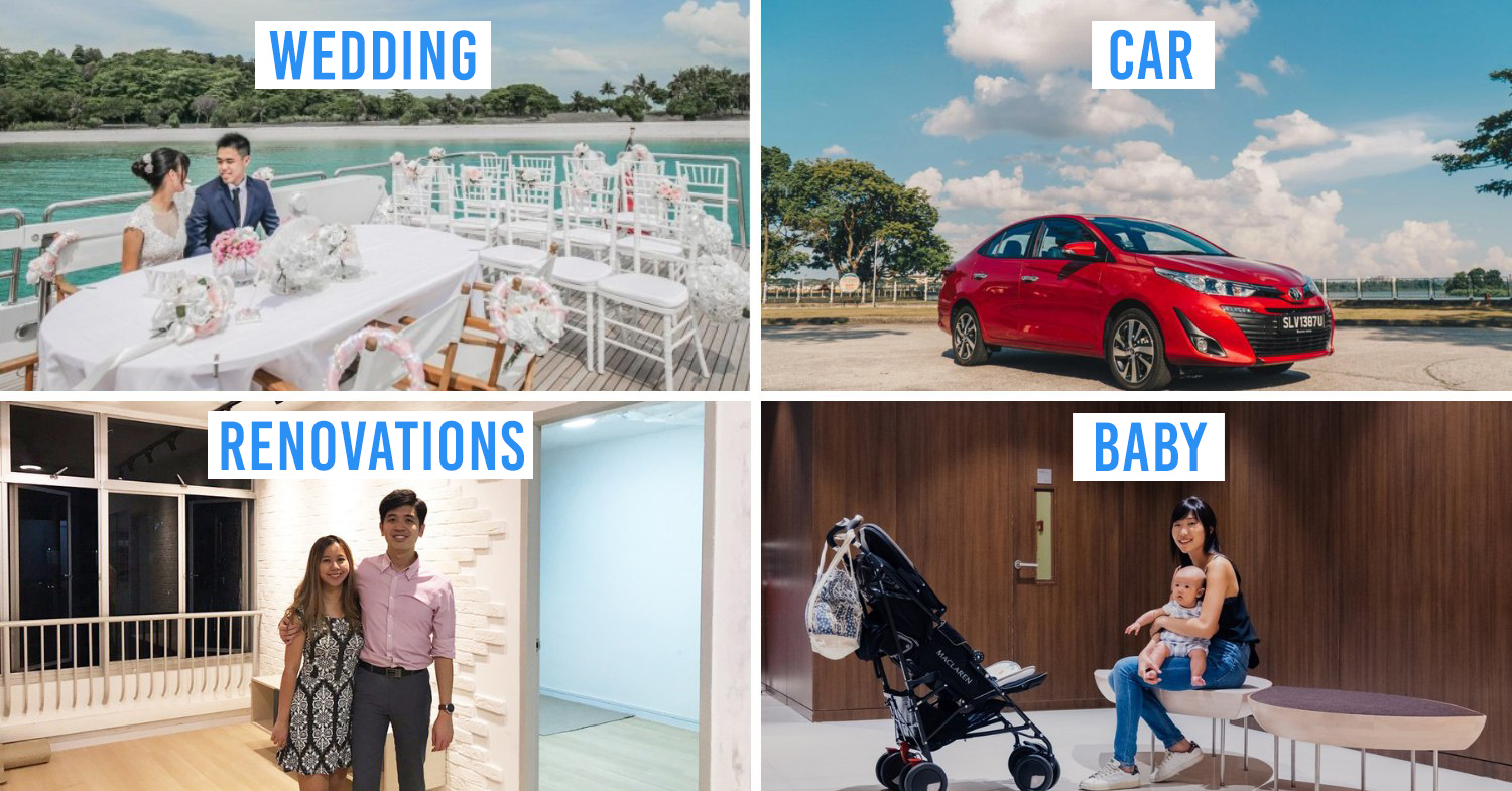 7 Things Singaporeans Spend The Most On In Their Lifetime And How To Finance Them