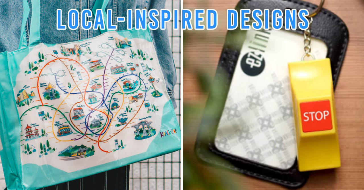Knackstop Has Launched A Quirky New MRT Map Range That Will Make Your Heart Go Bedok, Bedok