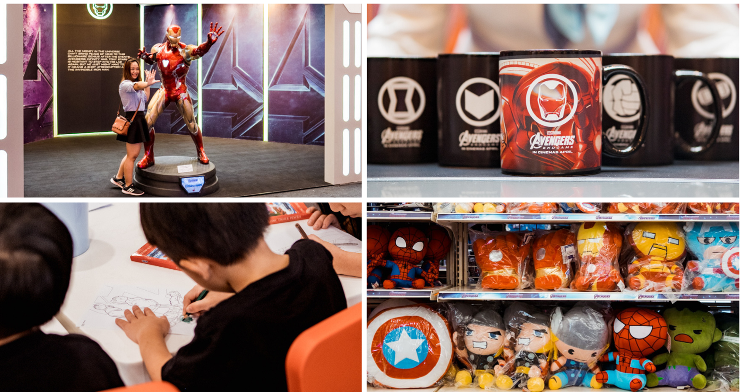 This Avengers Endgame Pop-Up In JB's New Mall Has Exclusive Marvel Mugs, Photo Ops & Children's Workshops