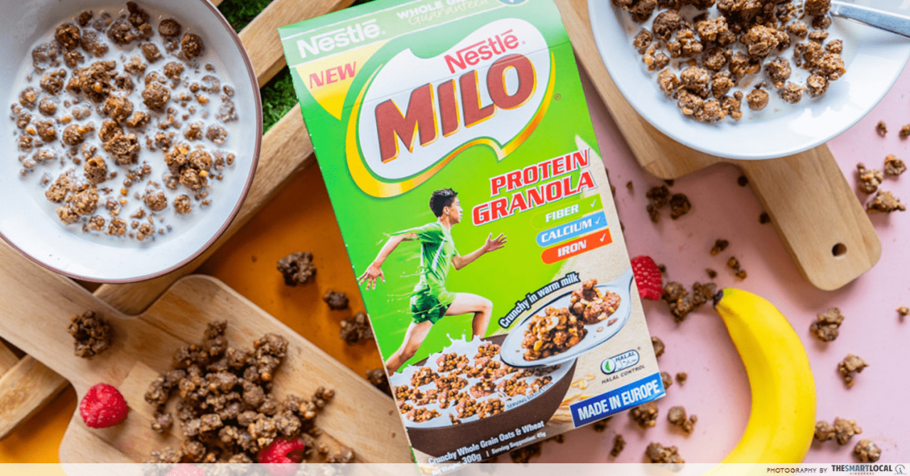 Milo Now Has A New Granola With More Protein To Settle Your Pre-Workout Breakfast