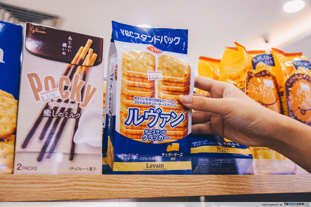 The Levain chesse biscuits is a tasty alternative to the Tokyo Milk Cheese biscuits
