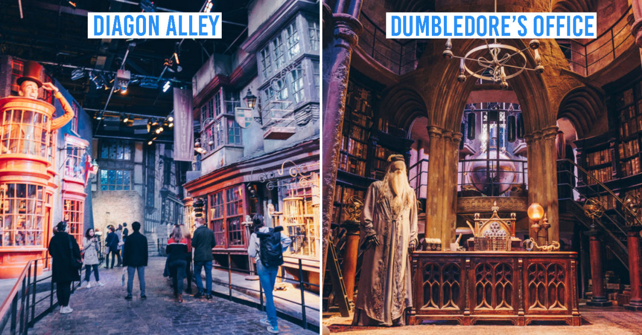 Harry Potter Studio Tour London Guide Real Life Movie Sets Photo