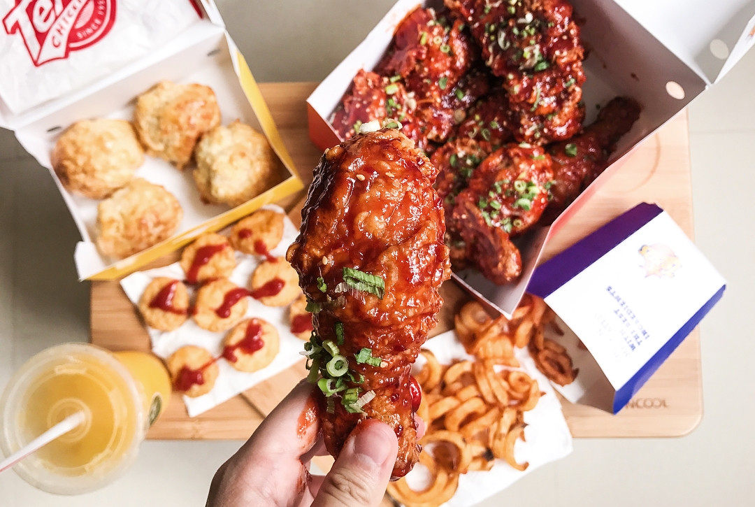8 Fried Chicken Stores With Delivery To Your Home From Jollibee's Chickenjoy to Bon Chon's Korean-style Wings