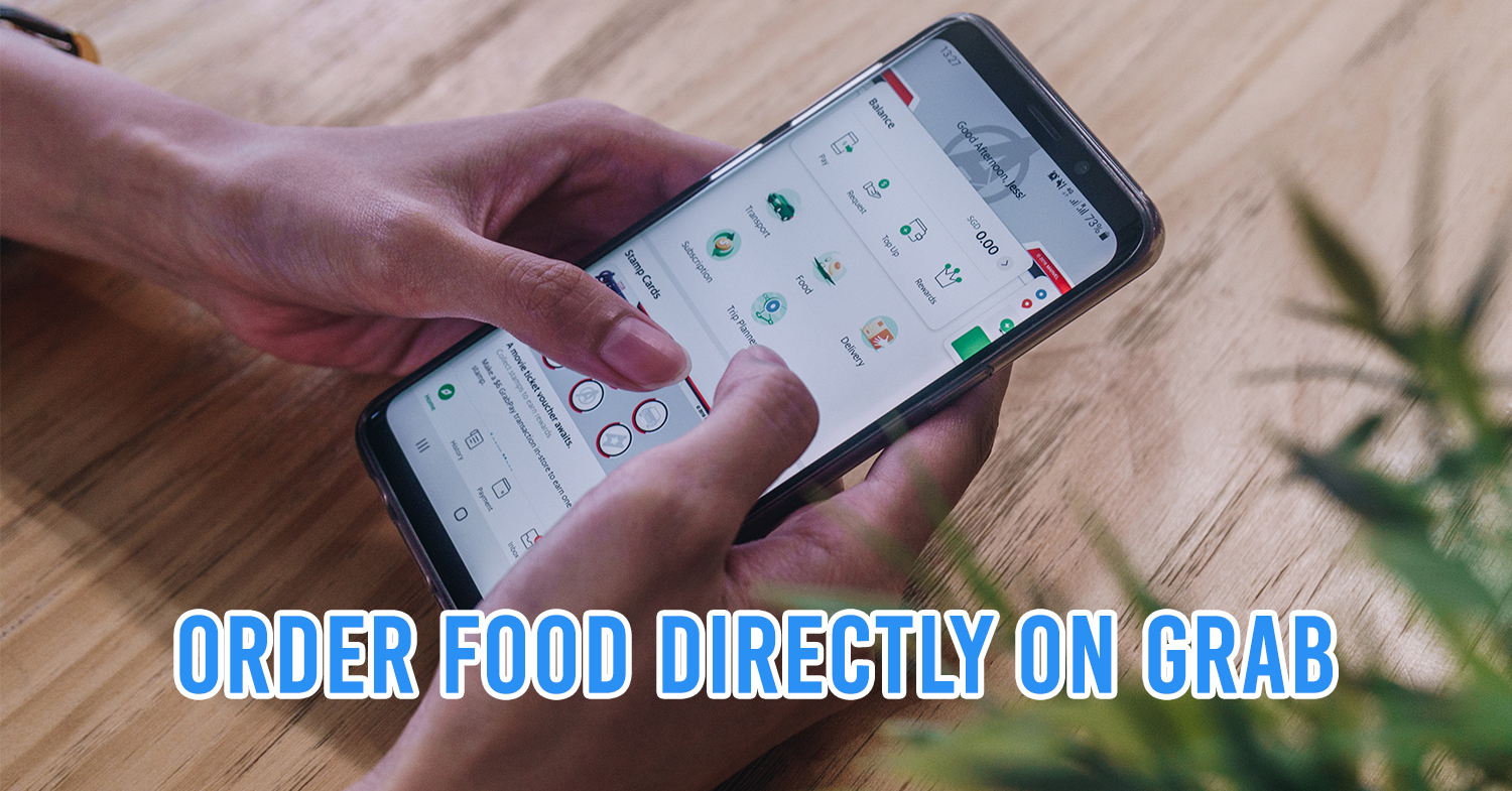 GrabFood Moves To The Main Grab App So You Can Book Cabs & Order Food Without Switching Apps