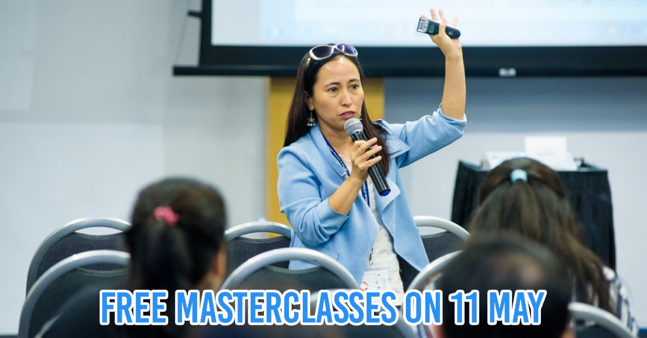 "This Free Postgraduate & Education Fair At Suntec City Has Masterclasses To Let You ""Try Out"" Courses"