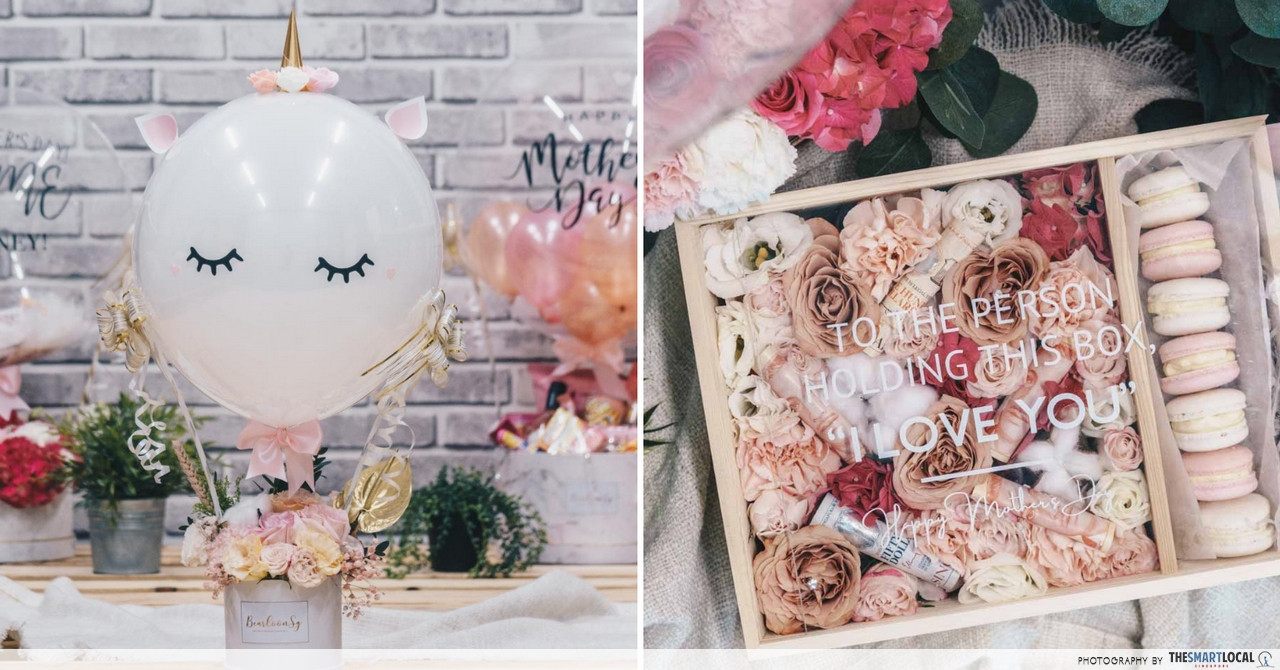 BearloonSG Has Mother's Day Gifts That Are Super Aesthetic & Customisable With Free Same-Day Delivery