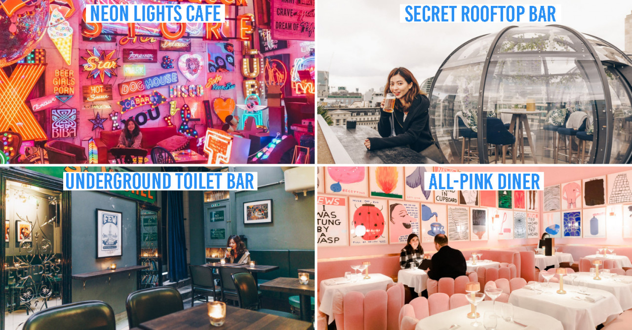10 Secret Things To Do In London - Neon Lights Cafe, Underground Toilet Bar, & Laundromat Karaoke