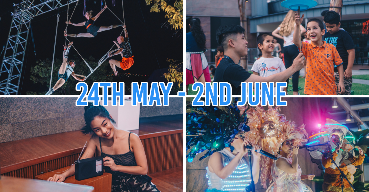 Esplanade's Flipside Festival 2019 Has Free Circus Acts & Shows That'll Reveal How You Use Social Media