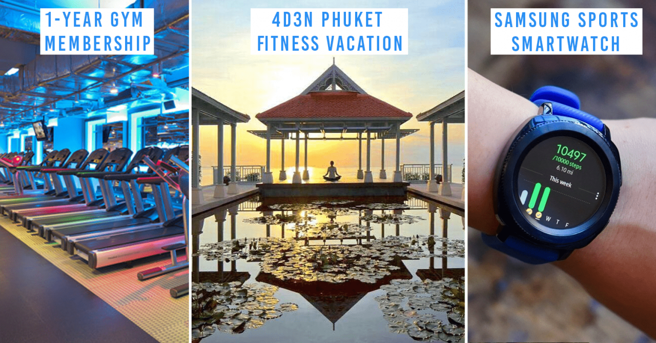 Great Eastern's New App Gives You Prizes Like An All-In Fitness Vacation For Working Out