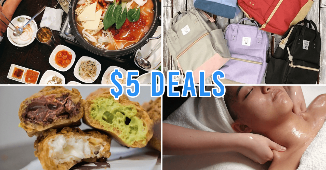 Chinatown Point Has $5 Deals After 5PM Including Set Meals, Snacks & Massages